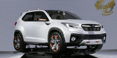 Subaru greift mit Mini-SUV an