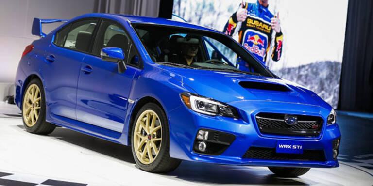 So kommt der neue Subaru WRX STI