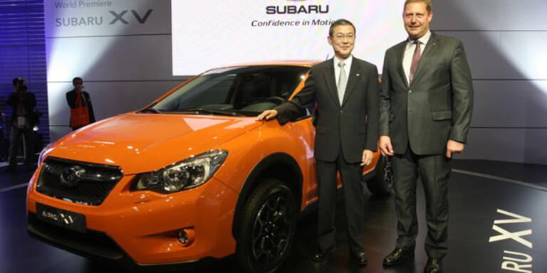 IAA 2011: Weltpremiere des Subaru XV
