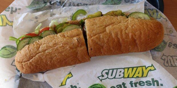 Subway muss jetzt Sandwich-Länge nachmessen