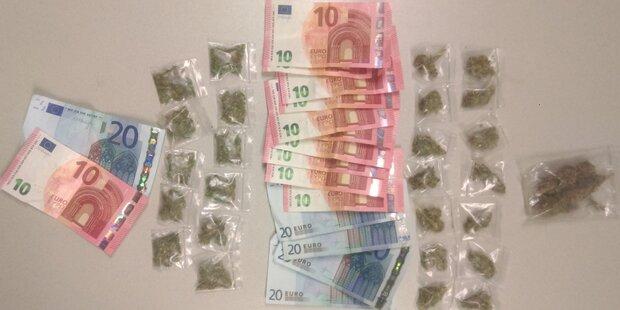 Polizei lässt Straßen- Dealer hochgehen