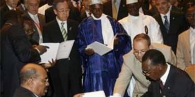 Sudan und Tschad unterzeichnen Friedensvereinbarung
