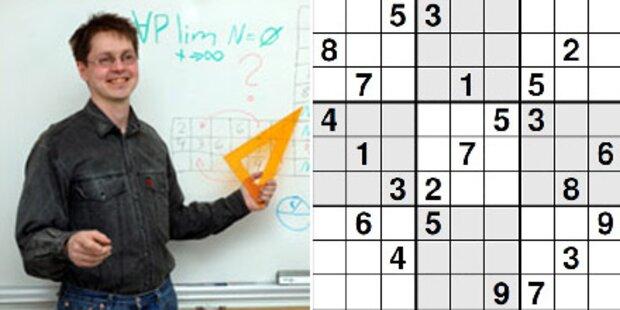 Das ist das schwierigste Sudoku der Welt