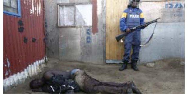 Bereits 62 Tote bei Ausschreitungen in Südafrika