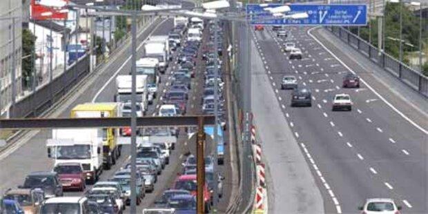 Wien droht der Verkehrsinfarkt