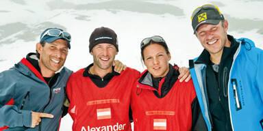"""Teammitglieder """"Wettlauf zum Südpol"""""""