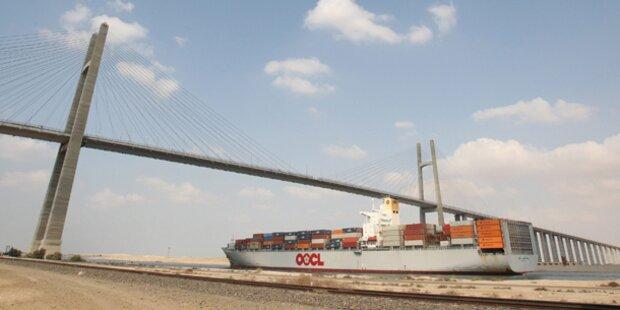 Anschlag auf Suez-Kanal fehlgeschlagen