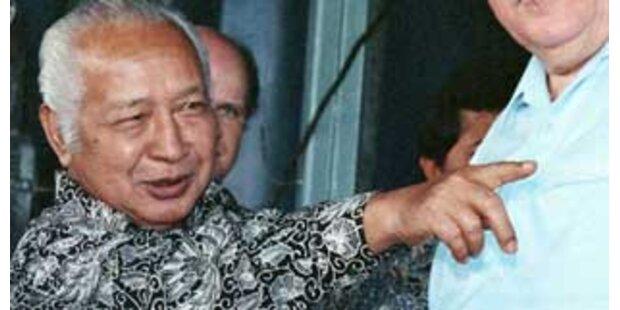Indonesischer Expräsident Suharto gestorben