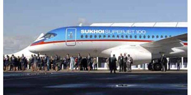 """Lieferung von """"Superjet"""" verzögert sich"""