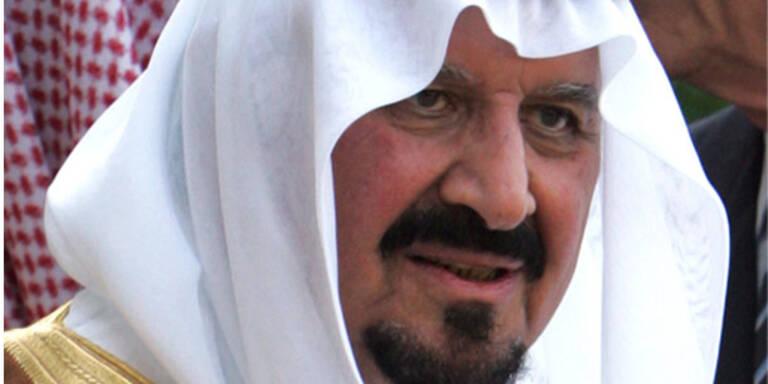 Saudi-arabischer Thronfolger ist tot