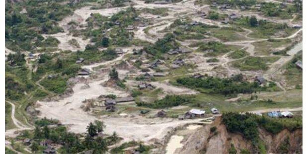 Immer mehr Tote nach Sumatra-Beben
