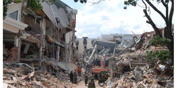 Erdbeben auf Sumatra - bis zu 4.000 Tote