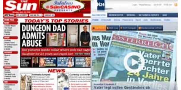 Verbrechen ist internationales Medienthema