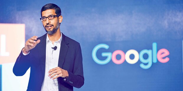 Gewinnexplosion bei Google-Mutter