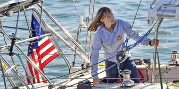16-jährige Weltumseglerin in Seenot