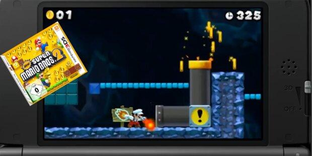 New Super Mario Bros. 2 für den 3DS ist da