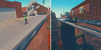 Irre: Fan spielt Super Mario in echt