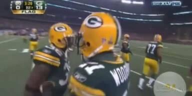 Green Bay Packers gewinnen die Super Bowl XLV