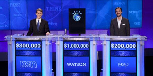 Supercomputer Watson siegte bei Jeopardy