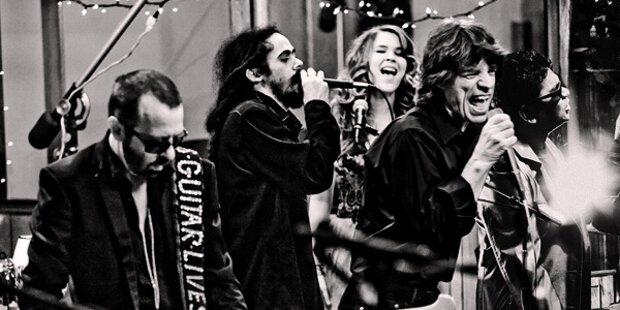Mick Jagger formiert Band der Superlative