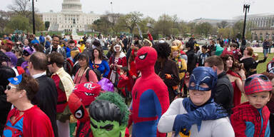 237 Superhelden in Washington