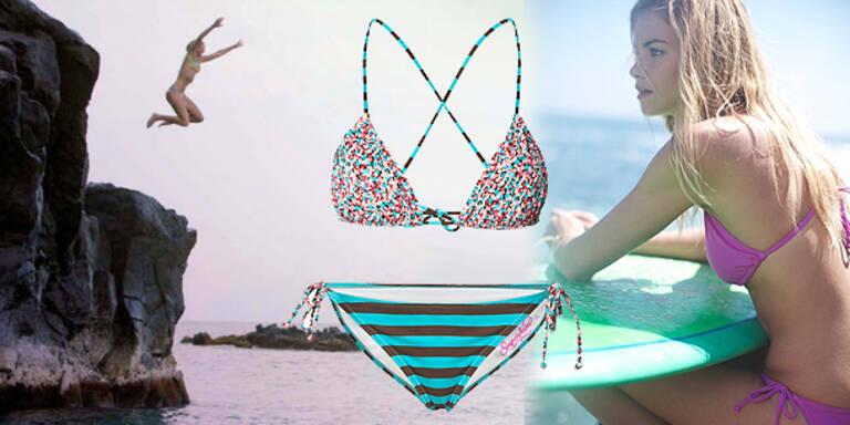Mutige Bikini-Models gesucht!