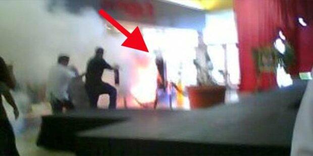 Frau verbrannte sich im US-Supermarkt