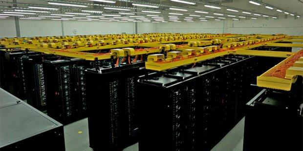 Super-Rechner wird mit warmem Wasser gekühlt