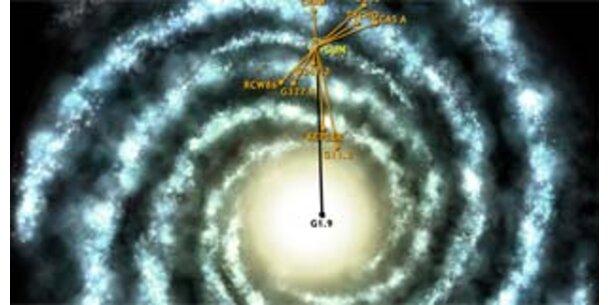 Forscher entdecken jüngste Supernova