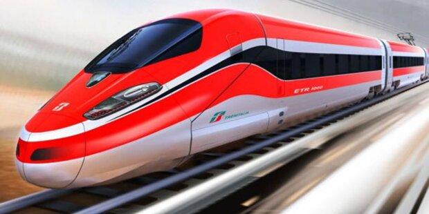 Schnellster Zug: Mit 400km/h durch Italien