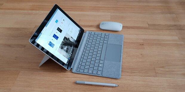 Microsoft-Tablet Surface Go im Test
