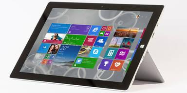 Jetzt startet das günstige Surface 3