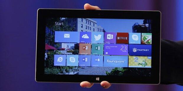 Surface 2 und Pro 2 ab sofort verfügbar