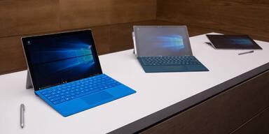 Surface Pro 4 und Surface Book kommen