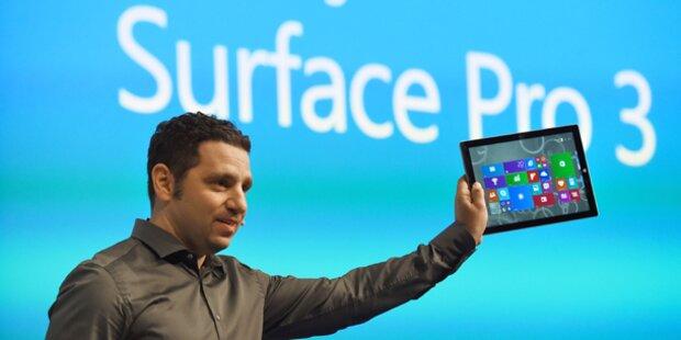 Microsoft bringt ein Surface Pro 3