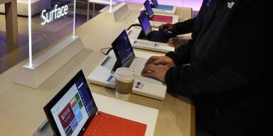 Microsoft hat 1,5 Mio. Tablets verkauft
