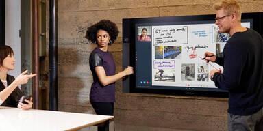 Microsoft bringt Riesen-Tablet auf den Markt
