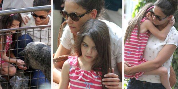 Im Zoo mit Katie & Suri