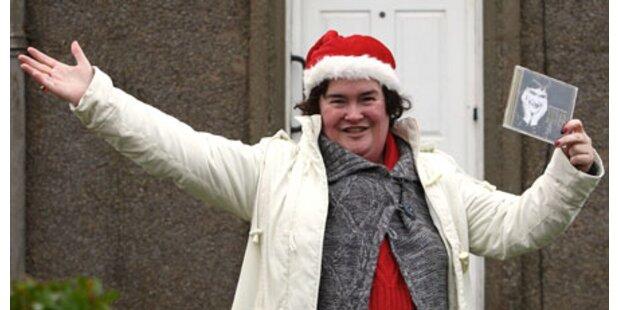 Susan Boyle auf dem Weg zum Rekord