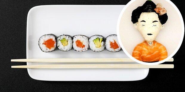 Ist das das kreativste Sushi der Welt?