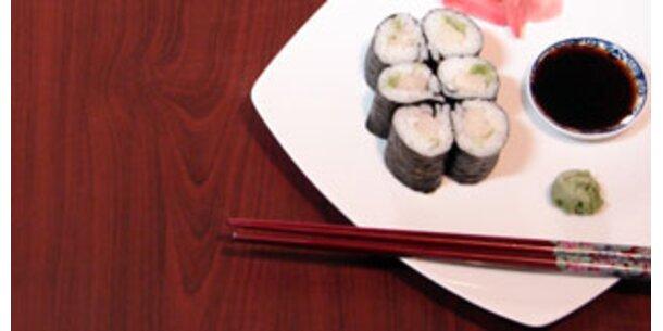 Hälfte der Sushi-Proben ungenießbar