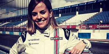 Susie Wolff schneller als Alonso