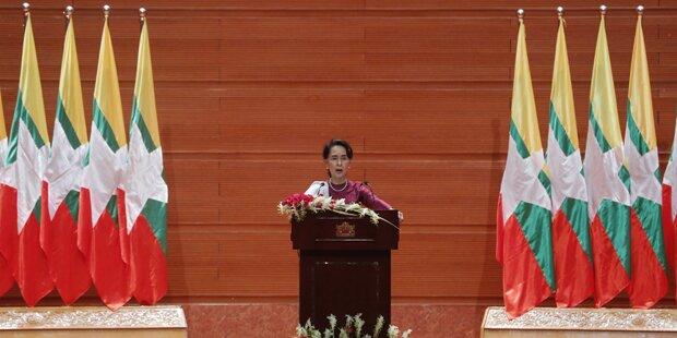 Rohingya - Amnesty enttäuscht über Rede von Suu Kyi