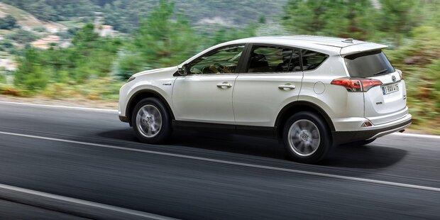 Die 10 meistverkauften SUVs der Welt