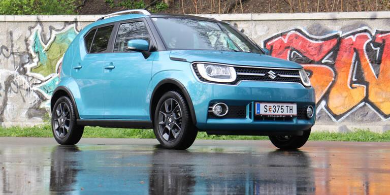 Suzuki Ignis mit Mild-Hybrid im Test