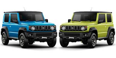So cool wird der neue Suzuki Jimny