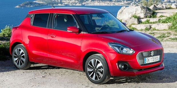 Das kostet der neue Suzuki Swift