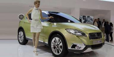 Suzuki trumpft mit Concept Cross-S auf