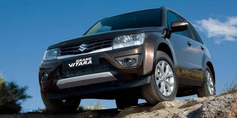 Facelift für den Suzuki Grand Vitara