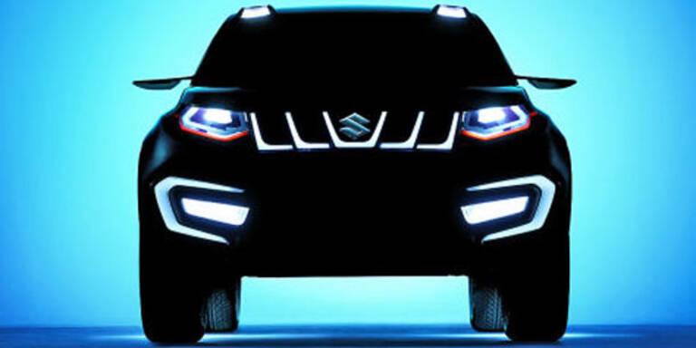 Suzuki zeigt martialische SUV-Studie